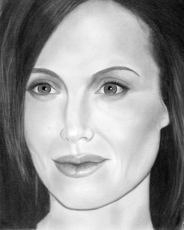 Angelina Jolie by PortraitArtistGene